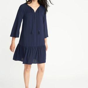 6431ec7ee19 Old Navy Dresses - Old Navy Lost at Sea Pintuck Swing Dress XXL (I6)